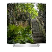 The Queen's Staircase #1 Shower Curtain