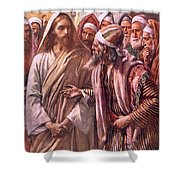 The Question Of The Sadducees Shower Curtain