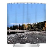 The Quiet Fall Shower Curtain