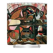 The Quilt Lady Shower Curtain