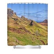 The Quiraing Shower Curtain