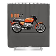 The R100 1976 Shower Curtain
