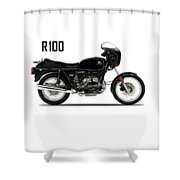 The R100 1984 Shower Curtain