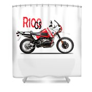 The R100gs Shower Curtain