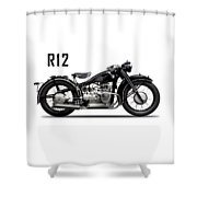 The R12 1935 Shower Curtain