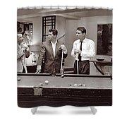 The Ra Pack Sammy Davis Jr, Frank Sinatra Dean Martin Shower Curtain
