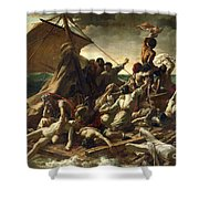 The Raft Of The Medusa Shower Curtain