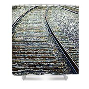 The Rails Edge Shower Curtain