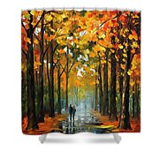 The Rain Is Gone Shower Curtain
