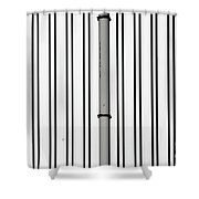 The Rain Pipe Shower Curtain
