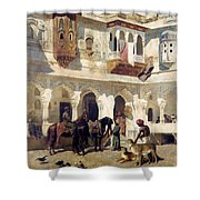 The Rajah Starting On A Hunt Shower Curtain