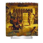 The Ramparts Of God's House Shower Curtain