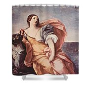 The Rape Of Europa 1639 Shower Curtain