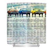 The Rapid Transit System - If You Can't Beat The System Join It. Shower Curtain