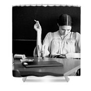 The Reader. Shower Curtain