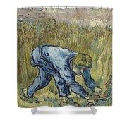 The Reaper After Millet Saint Remy De Provence, September 1889 Vincent Van Gogh 1853  1890 Shower Curtain