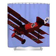 The Red Baron II Shower Curtain