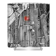 The Red Lantern Shower Curtain