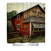 The Red Mill Shower Curtain