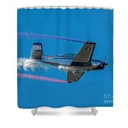 The Red, White And Blue Shower Curtain