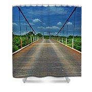 The Regency Bridge 3 Shower Curtain