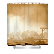 The Remuda Shower Curtain