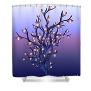 The Resolutions Tree At Dawn Shower Curtain