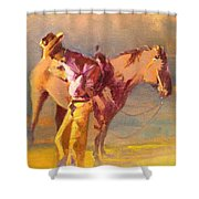 The Respite Shower Curtain