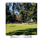 The Rest House Bournville Shower Curtain