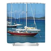 The Restful Voyage Shower Curtain