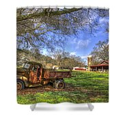 The Resting Place Shadows Shower Curtain