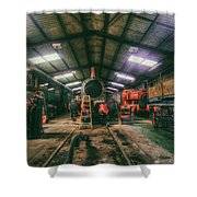 The Restoration Shed Shower Curtain