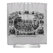 The Result Of The Fifteenth Amendment Shower Curtain by War Is Hell Store