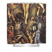 The Resurrection 1600 Shower Curtain