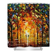 The Return Of The Sun Shower Curtain
