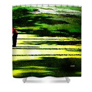 The Return Of The Tiger 05 Shower Curtain