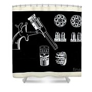 The Revolver Shower Curtain