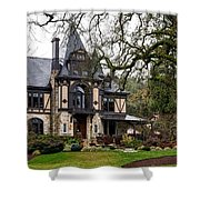 The Rhine House Of Napa Valley Shower Curtain