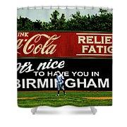 The Rickwood Classic - Birmingham Alabama Shower Curtain
