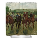 The Riders, 1885 Shower Curtain