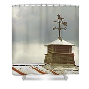 The Right Direction Shower Curtain