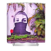 Fighting For Life  Shower Curtain