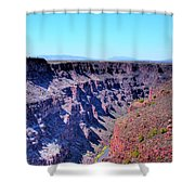 The Rio Grande Gorge Shower Curtain