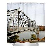 The Rip Van Winkle Bridge 4 Shower Curtain