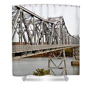 The Rip Van Winkle Bridge 5 Shower Curtain
