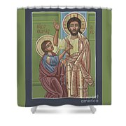 The Risen Lord Appears To St Thomas 257 Shower Curtain