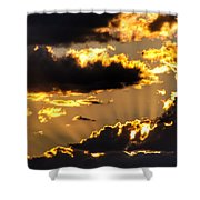 The Rising Of The Setting Sun Shower Curtain