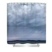The Rising Storm Shower Curtain