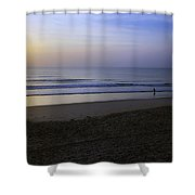 The Rising Sun Shower Curtain