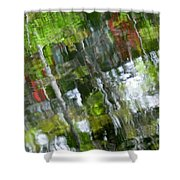 The River 3 Shower Curtain